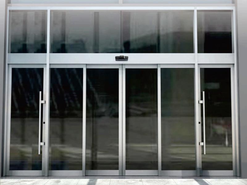 有框玻璃自动门