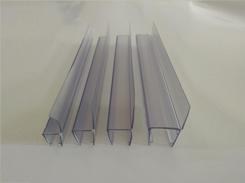 玻璃门F型挡水胶条