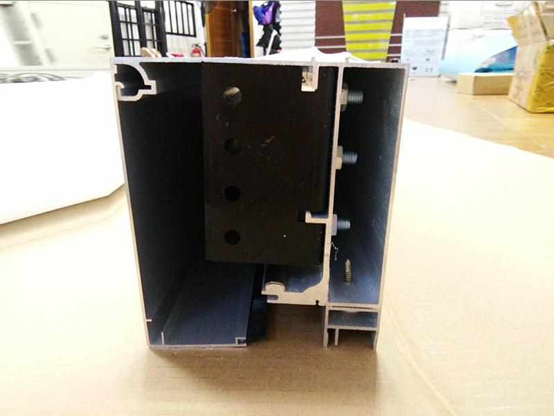 自动门铝型材框料25竖边