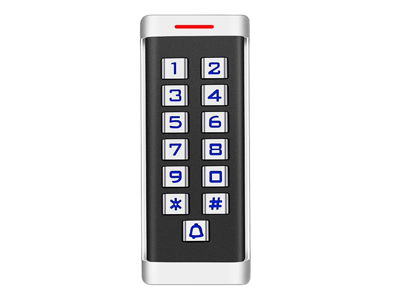 H2金属按键刷卡密码门禁机