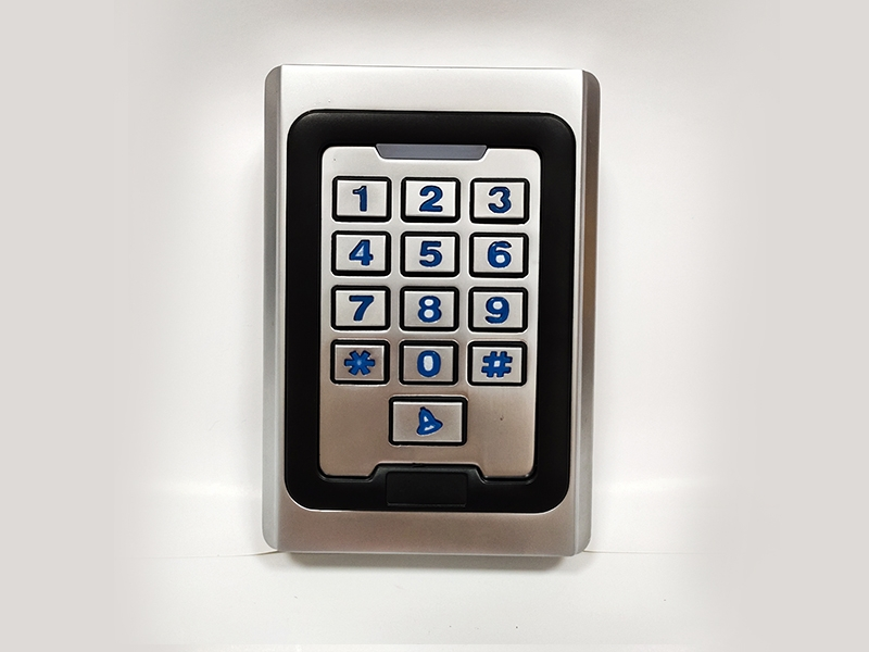 K5金属按键刷卡密码门禁机
