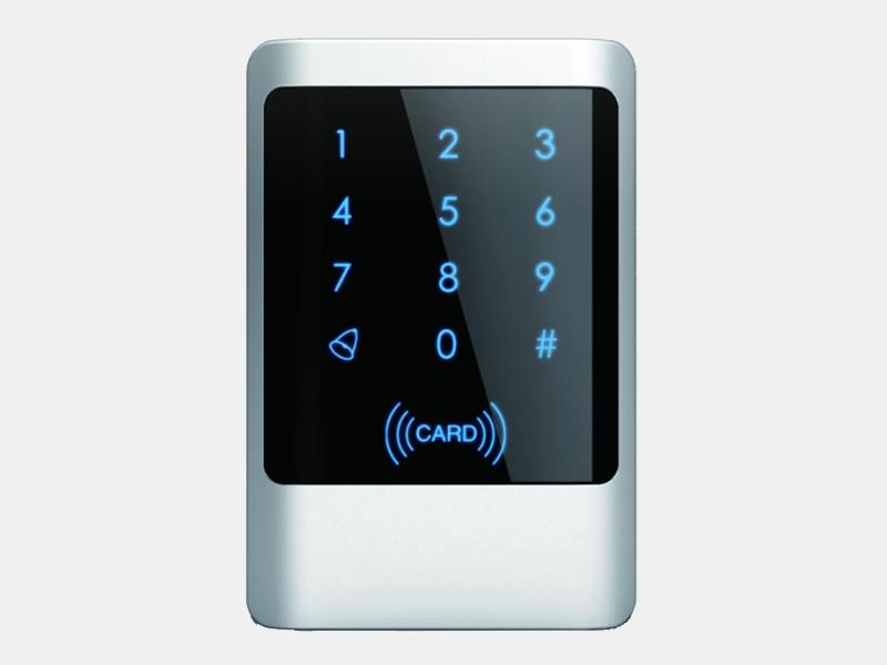 M1金属触摸刷卡密码门禁机