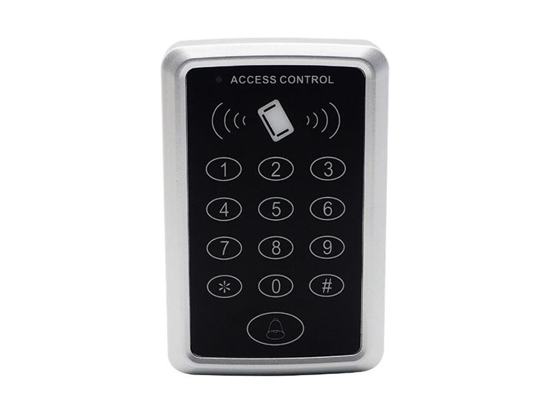 T1塑料按键刷卡密码门禁机